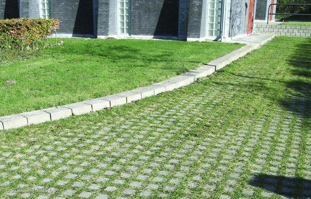 Græsarmeringsblokke / Rustik græsarmering