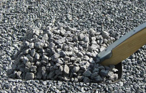 Granit skærver sort